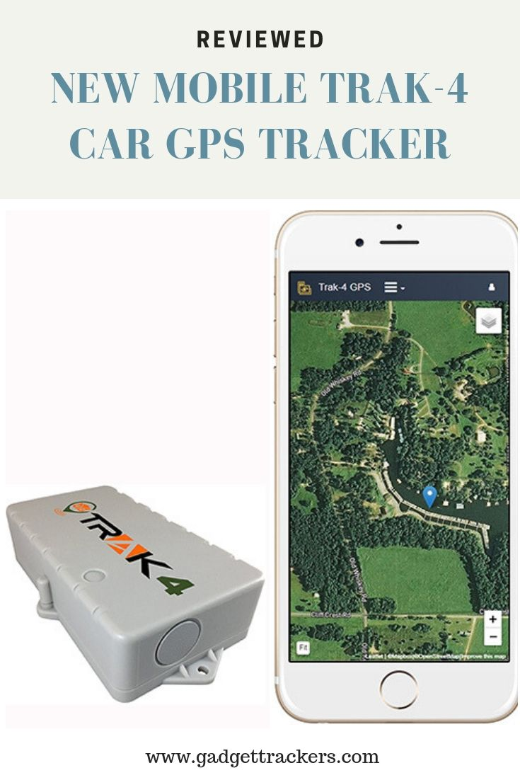 Reviewed: New Mobile Trak-4 Car GPS Tracker | Gps tracker ...