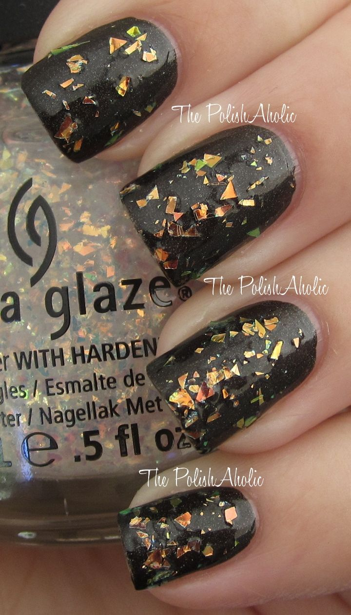China glaze hunger games collection luxe and lush uñas