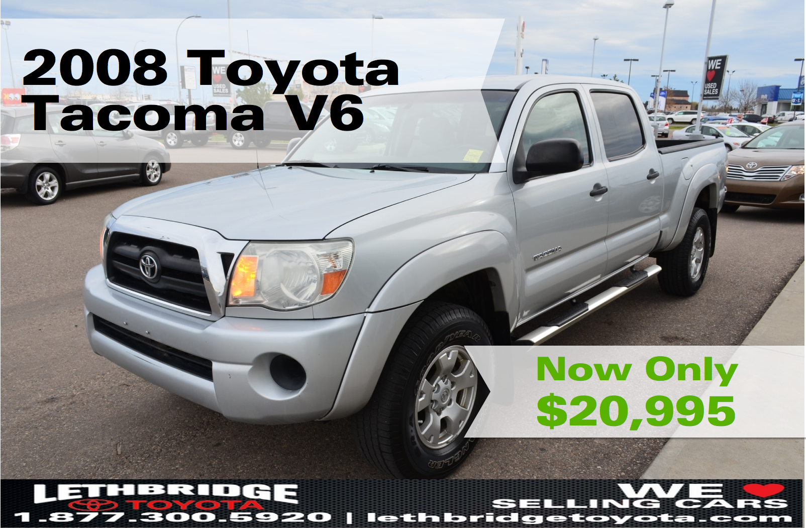 Specials 2008 Toyota Tacoma Toyota Used Trucks For Sale
