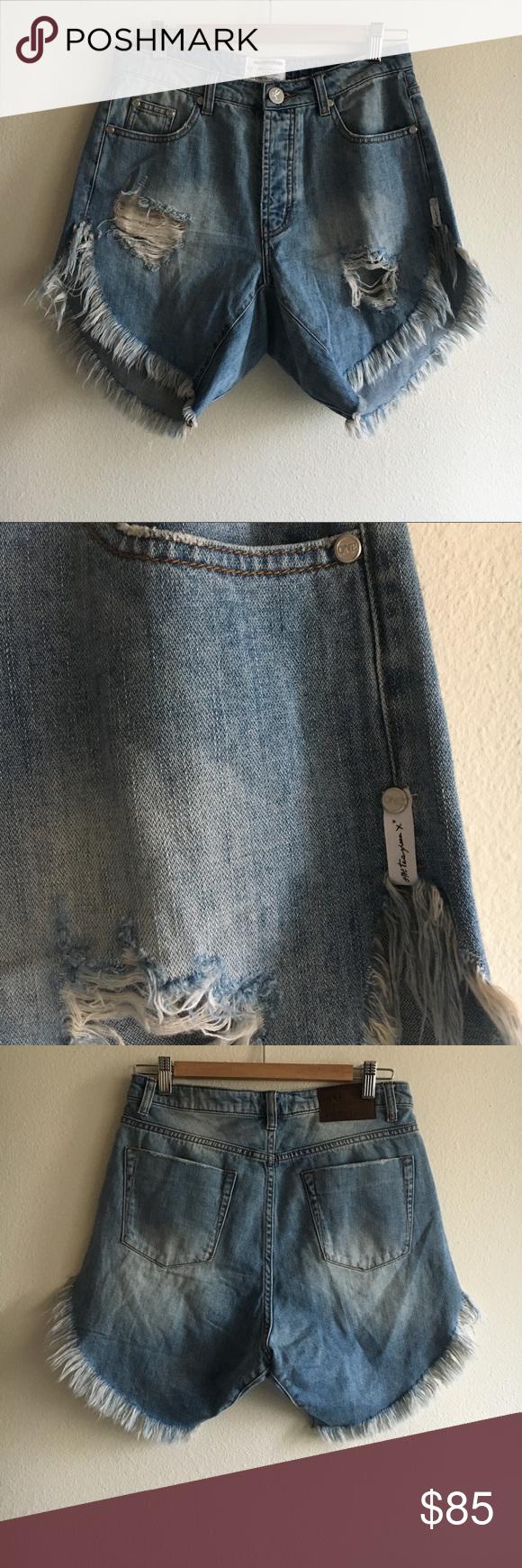 One Teaspoon For Free People Frankie S Shorts 25 Clothes Design Denim Wash Fashion