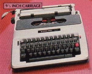 Brother Manual Typewriter