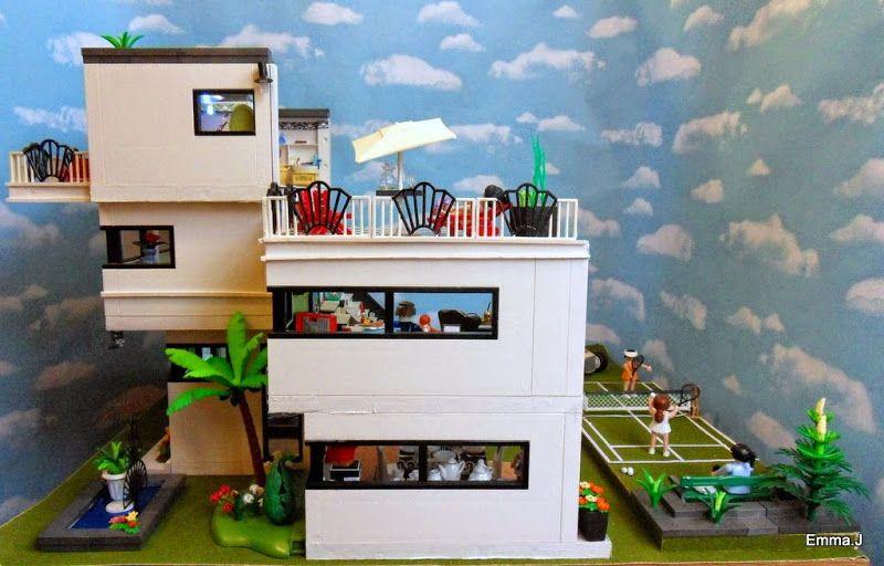 playmobil modern mansion - Google Search   Playmobil, Art ...