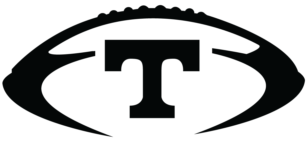 Tennessee Vols Logo Black and White