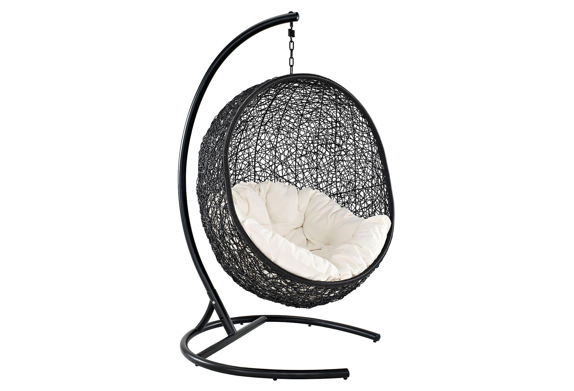 One kings lane the sleek set patio swing chair stuff i want to