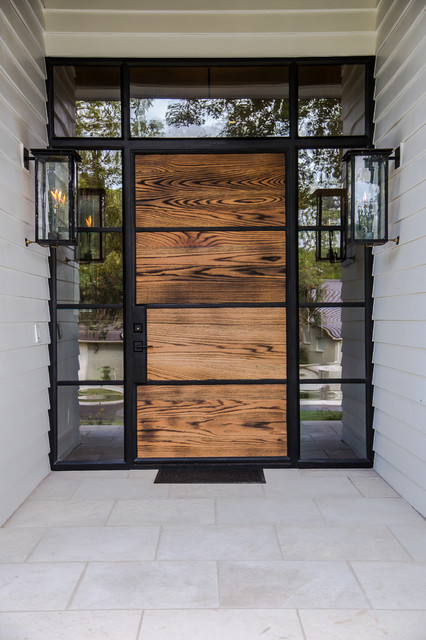Elton Lane - Transitional - Entry - Austin - by Roost Custom Homes, LLC   Houzz