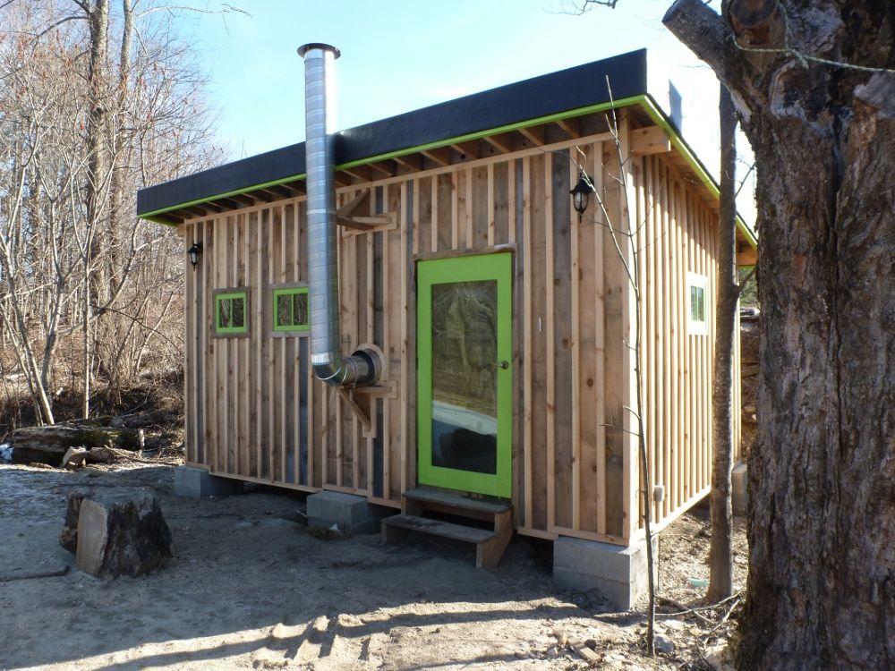 Ben's Natural Rocket Mass Sauna