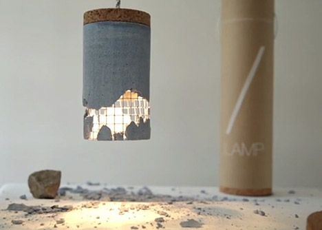 Smashable Concrete Lamp was Designed to be Broken | Designs ...