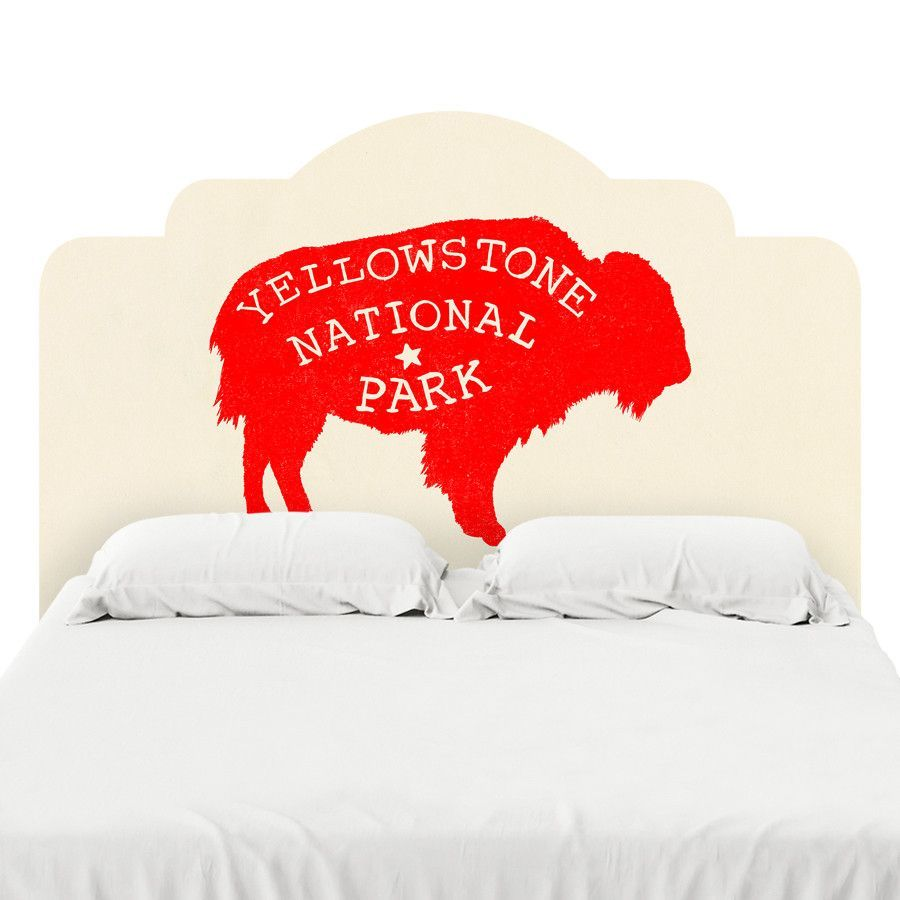 Yellowstone Headboard Decal