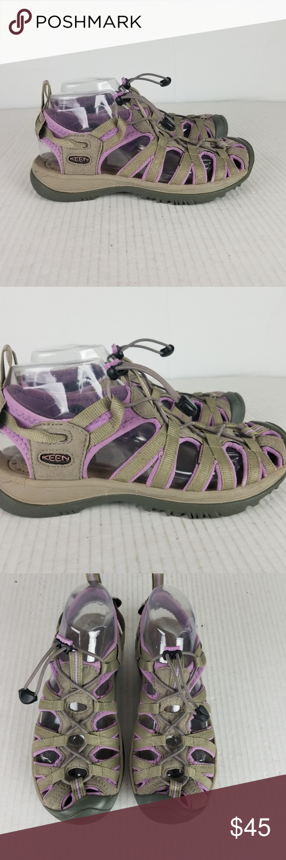 e24d52e22ff4 KEEN Whisper Womens sz 9 Gray   Lavender Waterproo KEEN Whisper Womens sz 9  Gray