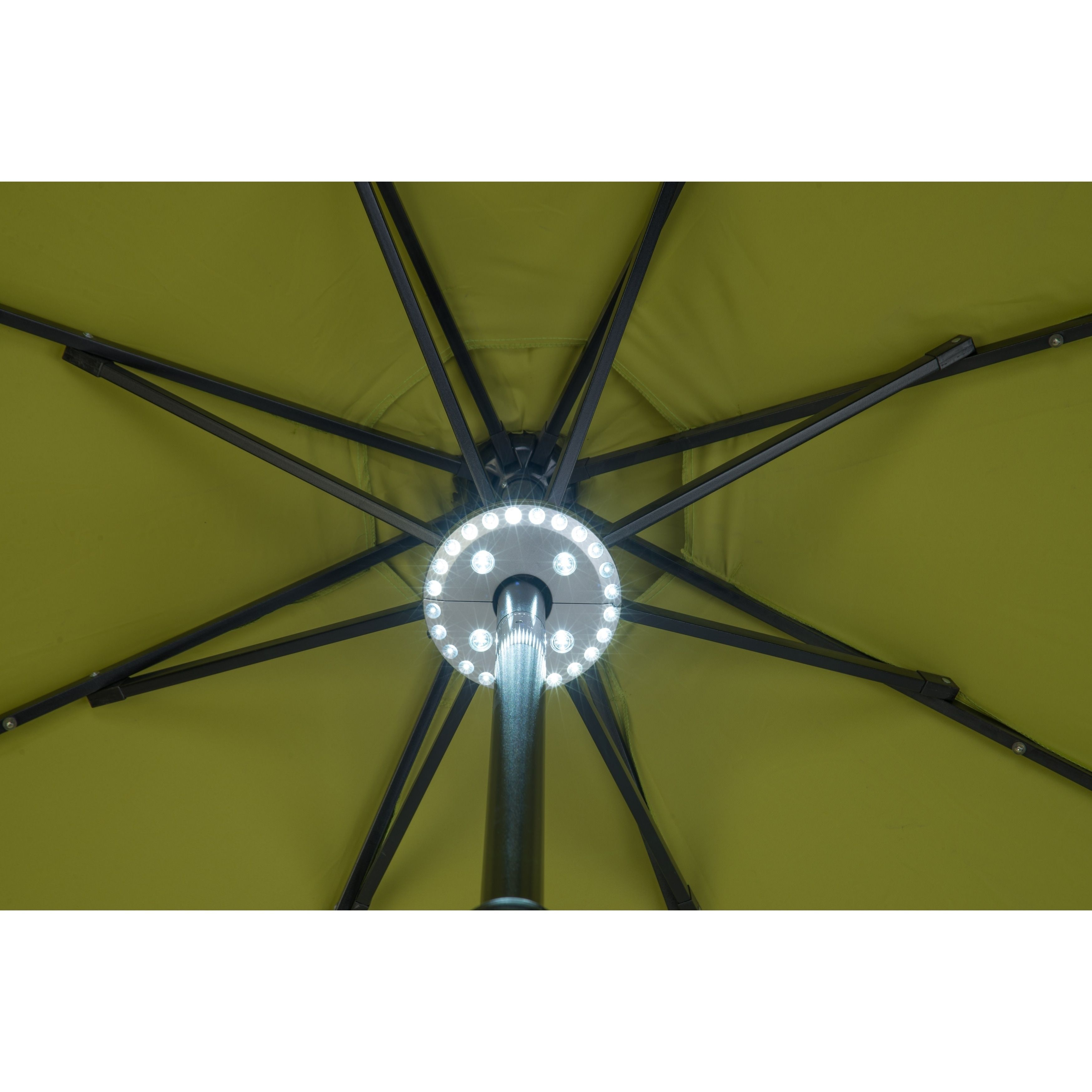 28 LED Patio Umbrella Light 3 Level Dimming by Trademark
