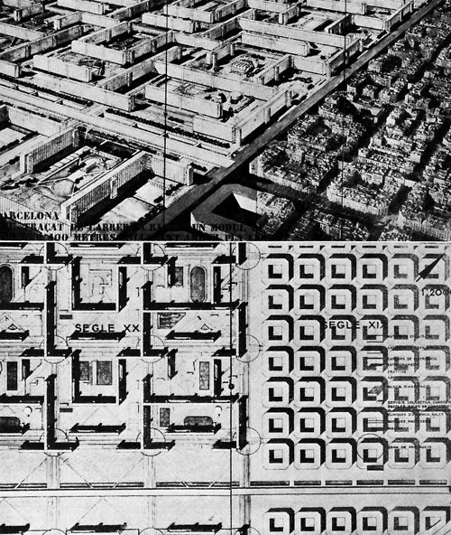 Master Plan Drawings: Jose Luis Sert, Studies For A Master Plan For The City Of