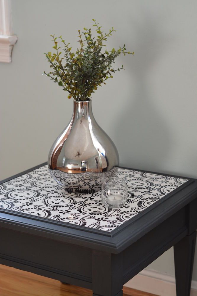 How to Tile a Table With Custom Designed Tiles