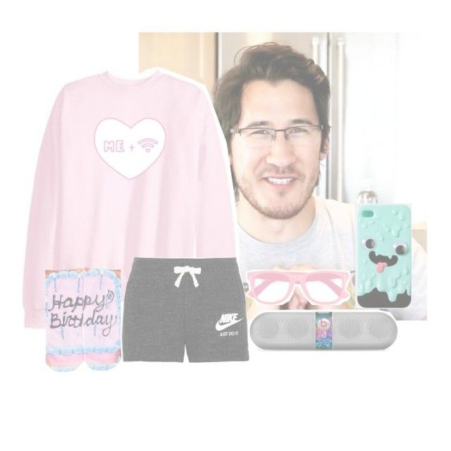 """""""Dancing with markimoo"""" by squishy-bubble-tea ❤ liked on Polyvore featuring NIKE, Living Royal, Beats by Dr. Dre and fred flare"""