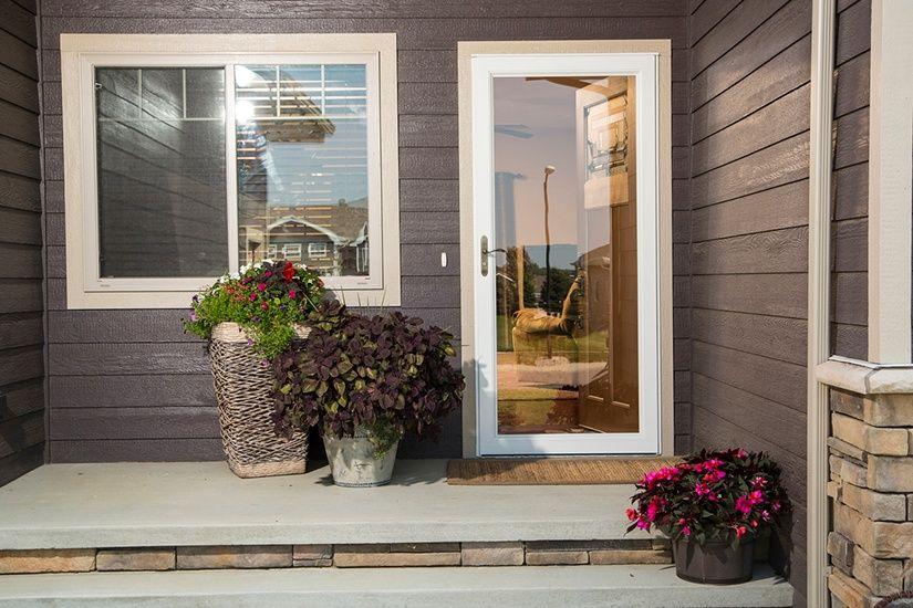 How To Switch Your Fullview Storm Door From Glass To A Screen Storm Door Types Of Doors Storm