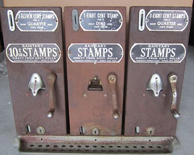 Old Stamp Vending Machine Vending Machines Vending