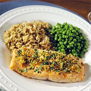 Roasted Salmon with Citrus and Herbs Recipe | MyRecipes.com