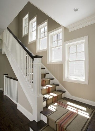 Lighting Basement Washroom Stairs: Open Basement Stair Design, Pictures, Remodel, Decor And