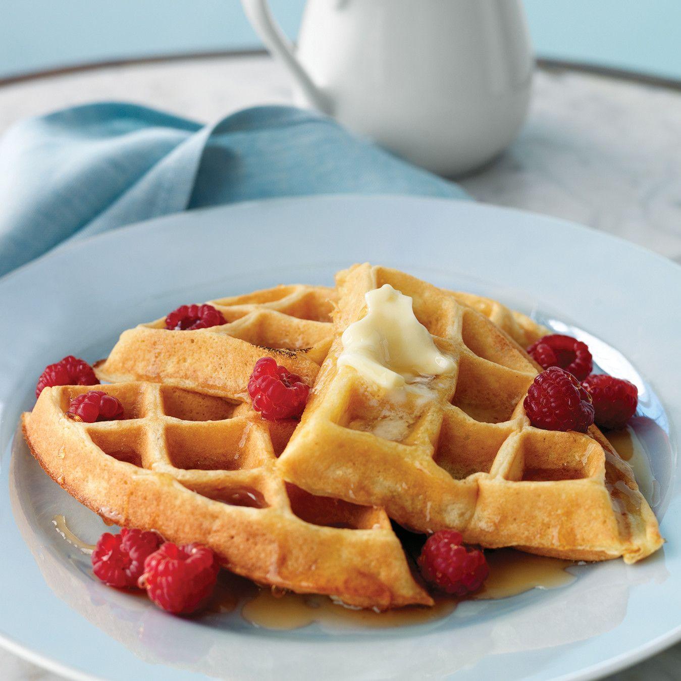 Make Crispy-Fluffy Waffles   Martha stewart, Gofres y Sartenes