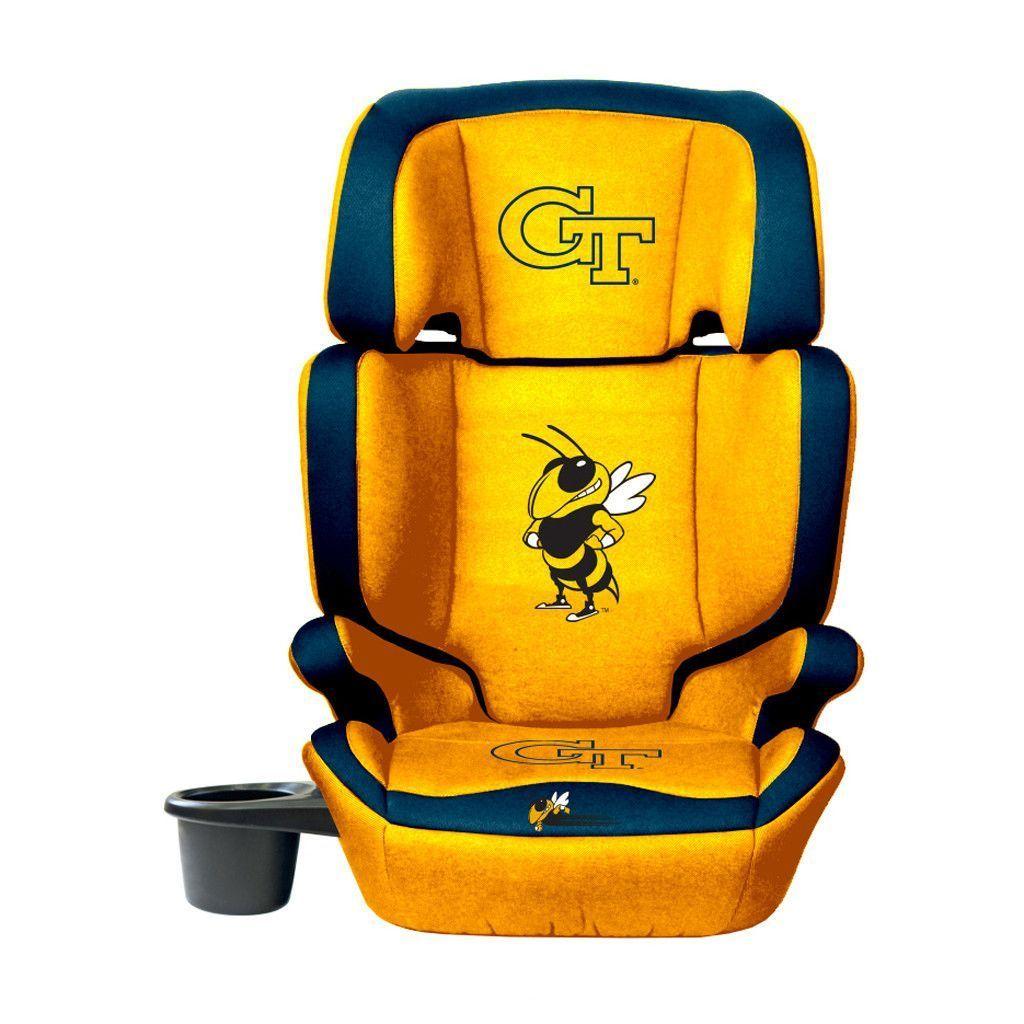 Tech Yellow Jackets Convertible High Back Booster