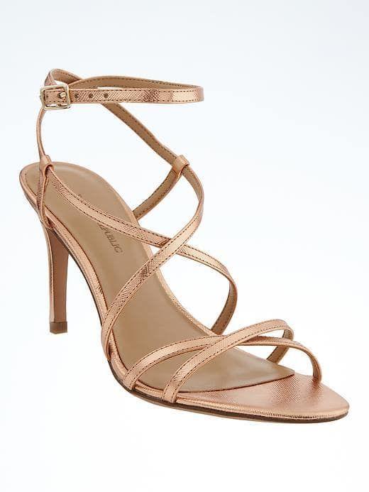 af16a4e2 Banana Republic Womens Crisscross High Heel Sandal | Products ...
