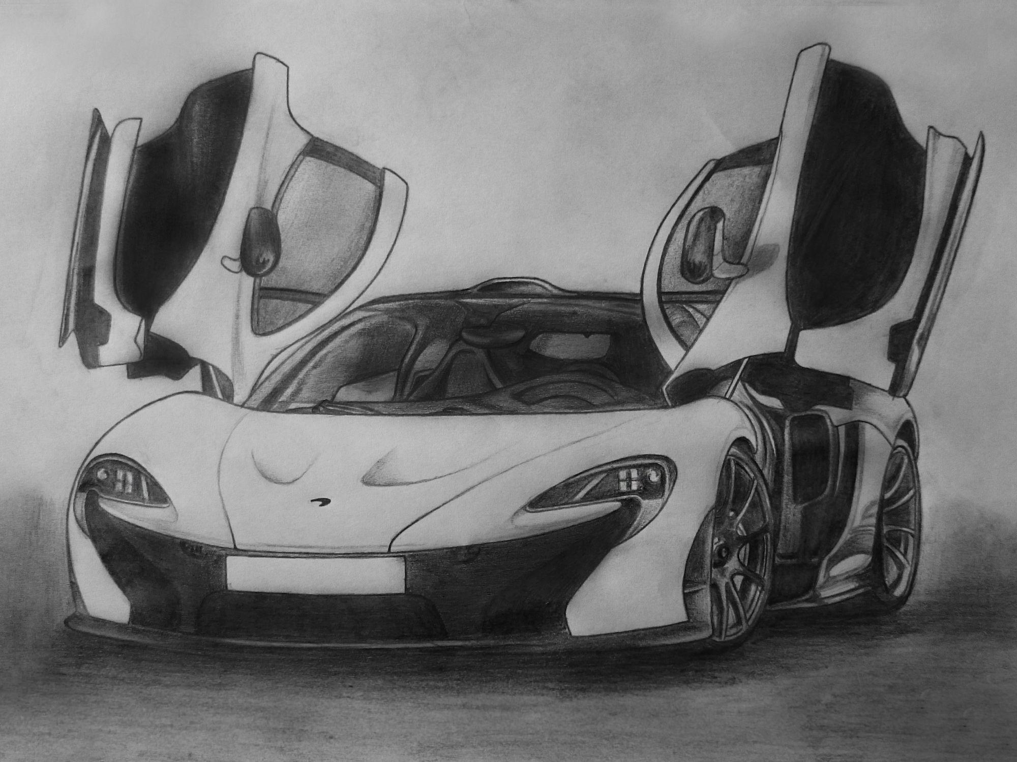 Mclaren P1 Find More Of My Artwork Here Https Www Pinterest Com Hazzoom82 My Artwork Mclaren P1 Mclaren Sports Car