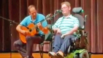 Inspiring 16-Year-Old Stuns School Talent Show With Randy Travis' 'I Told You So'