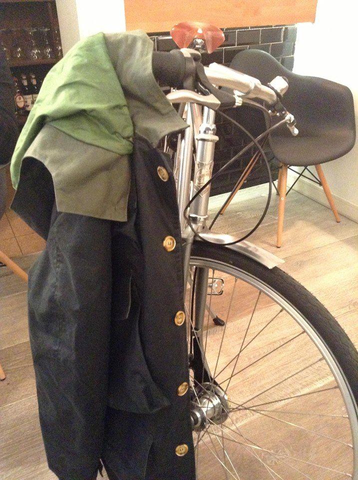 Bicicleta #Pilen en sesión de fotos de la marca de ropa Aspen Club