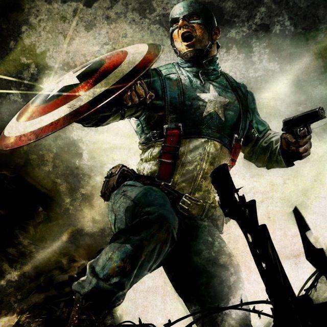 Captain America by REDSkill3t.deviantart.com on @deviantART