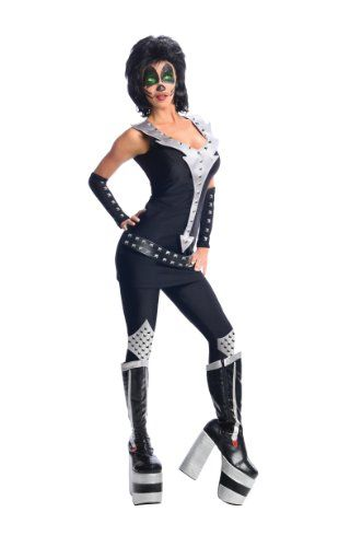 Secret Wishes Kiss Collection Catman Black/Silver X-Small - Halloween costumes  sc 1 st  Pinterest & Secret Wishes Kiss Collection Catman Black/Silver X-Small ...