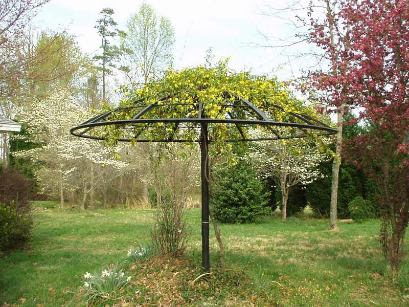 Uses For Old Satellite Dish With Images Garden Trellis