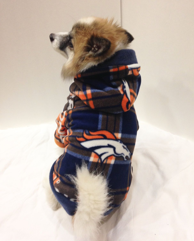 the latest b7870 930c6 Denver Broncos Dog Hoodie, Pet Sweater by LizzyAndMeekoShop ...