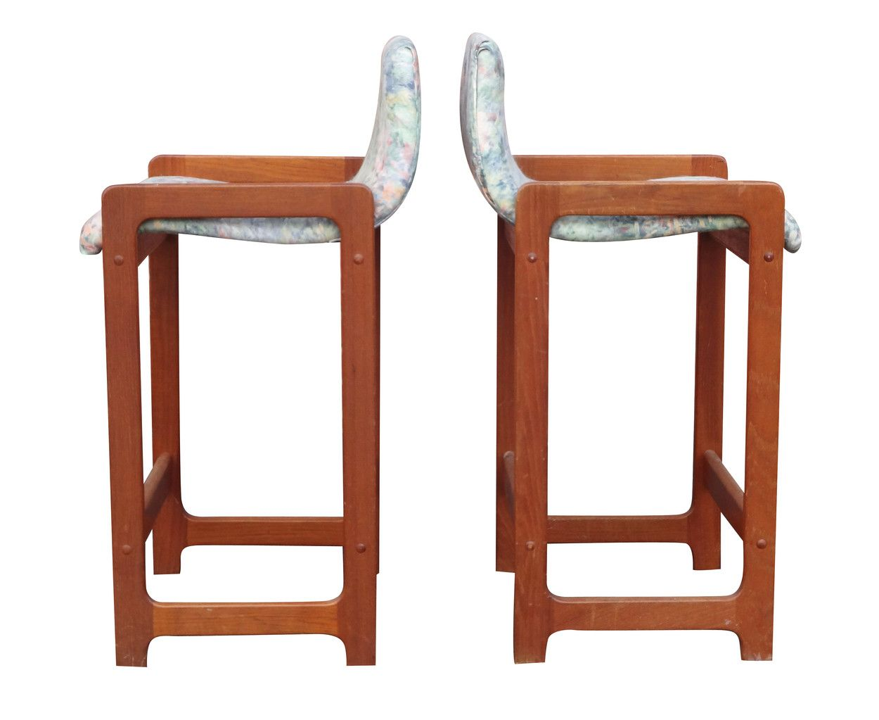 Barstools teak dixie nueve grand rapids michigans best mid century modern and decorator furniture store