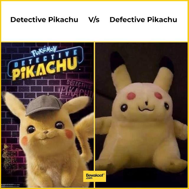 Detective Pikachu Pikachu Memes Funny Memes Pokemon Memes
