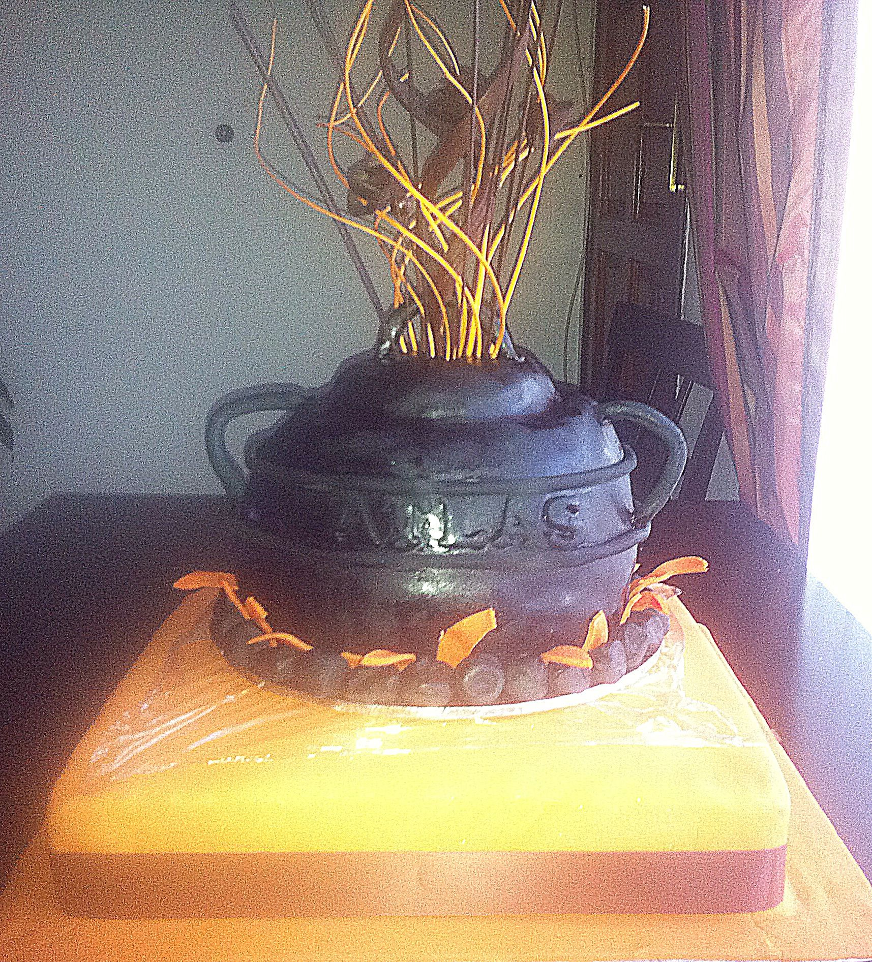 African Potjie Cake for a Zulu traditional wedding