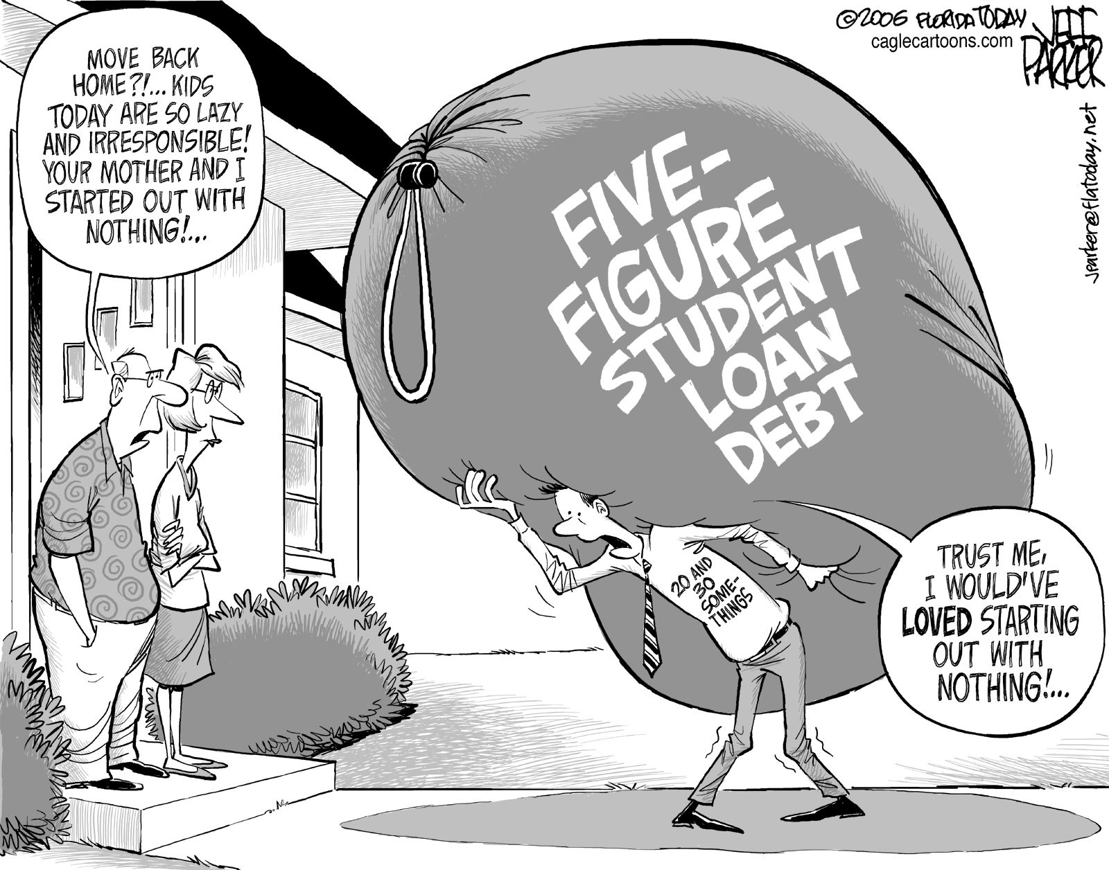 Image result for med student debt cartoon