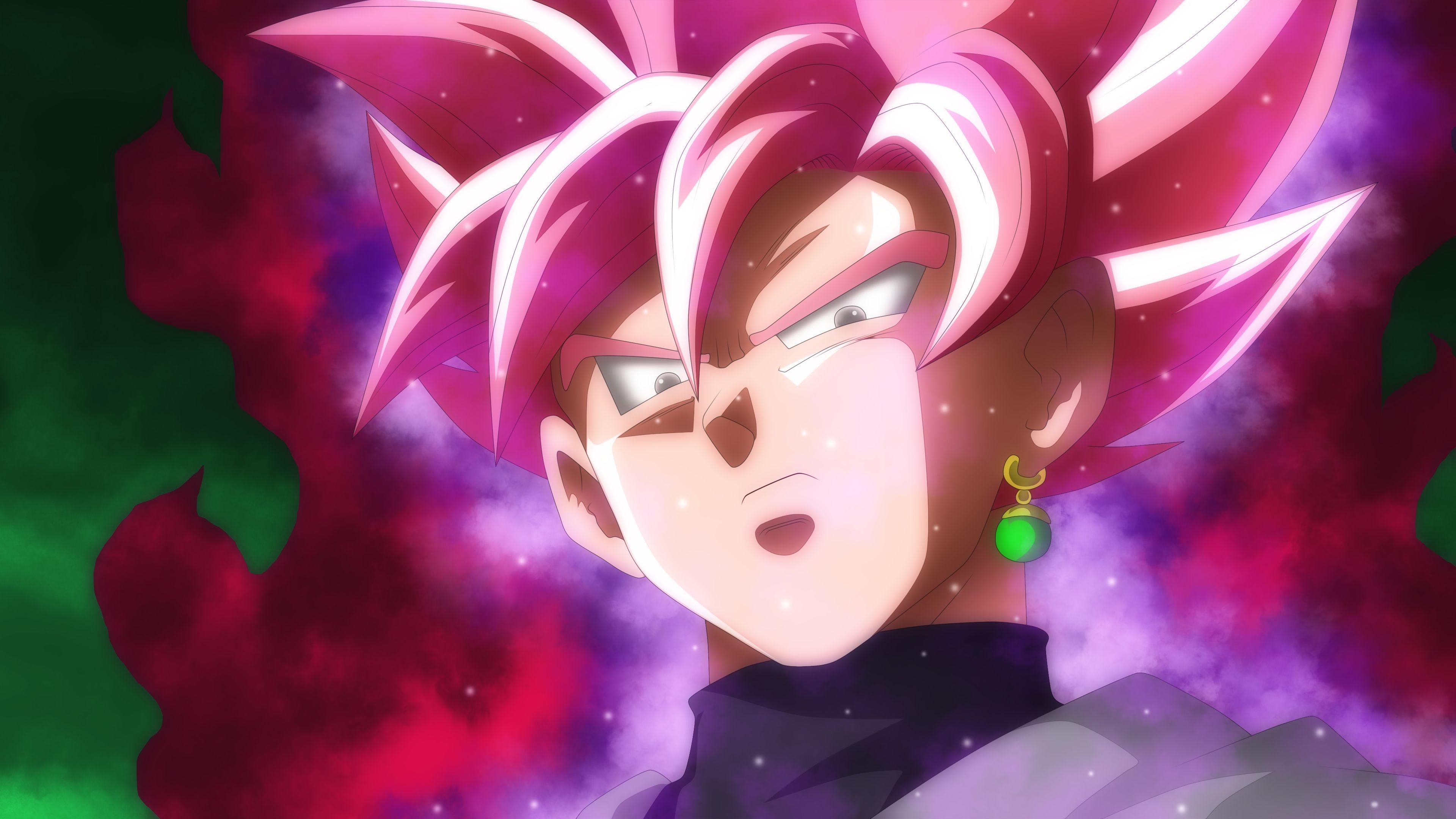 Goku Black Super Saiyan Rose Dragon Ball Super 4k 1091 Goku Black Goku Black Super Saiyan Dragon Ball Wallpapers