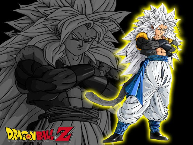 Dibujos Para Colorear De Dragon Ball Z Gohan Ssj2 Ideas: Gogeta Super Saiyan 5 Wallpaper, Dragon Ball