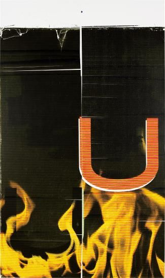 Wade Guyton, Untitled (2006), via Phillips