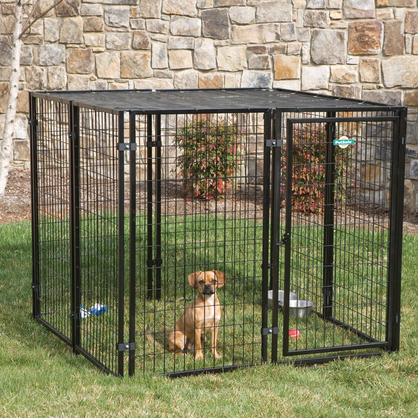 Petsafe Cottageview Dog Kennel With Free Sunblock Topa Dog