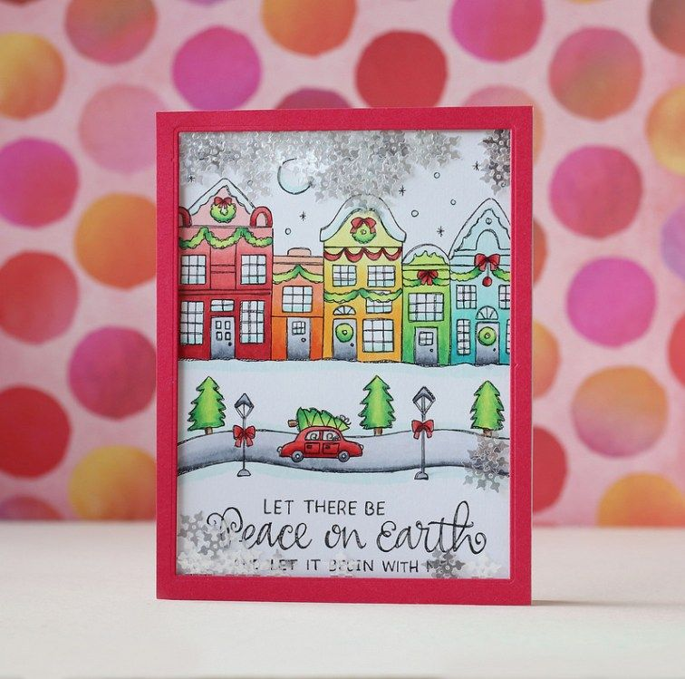 SSS-Suzy\'s Classical Christmas Watercolor Prints | Christmas Cards ...