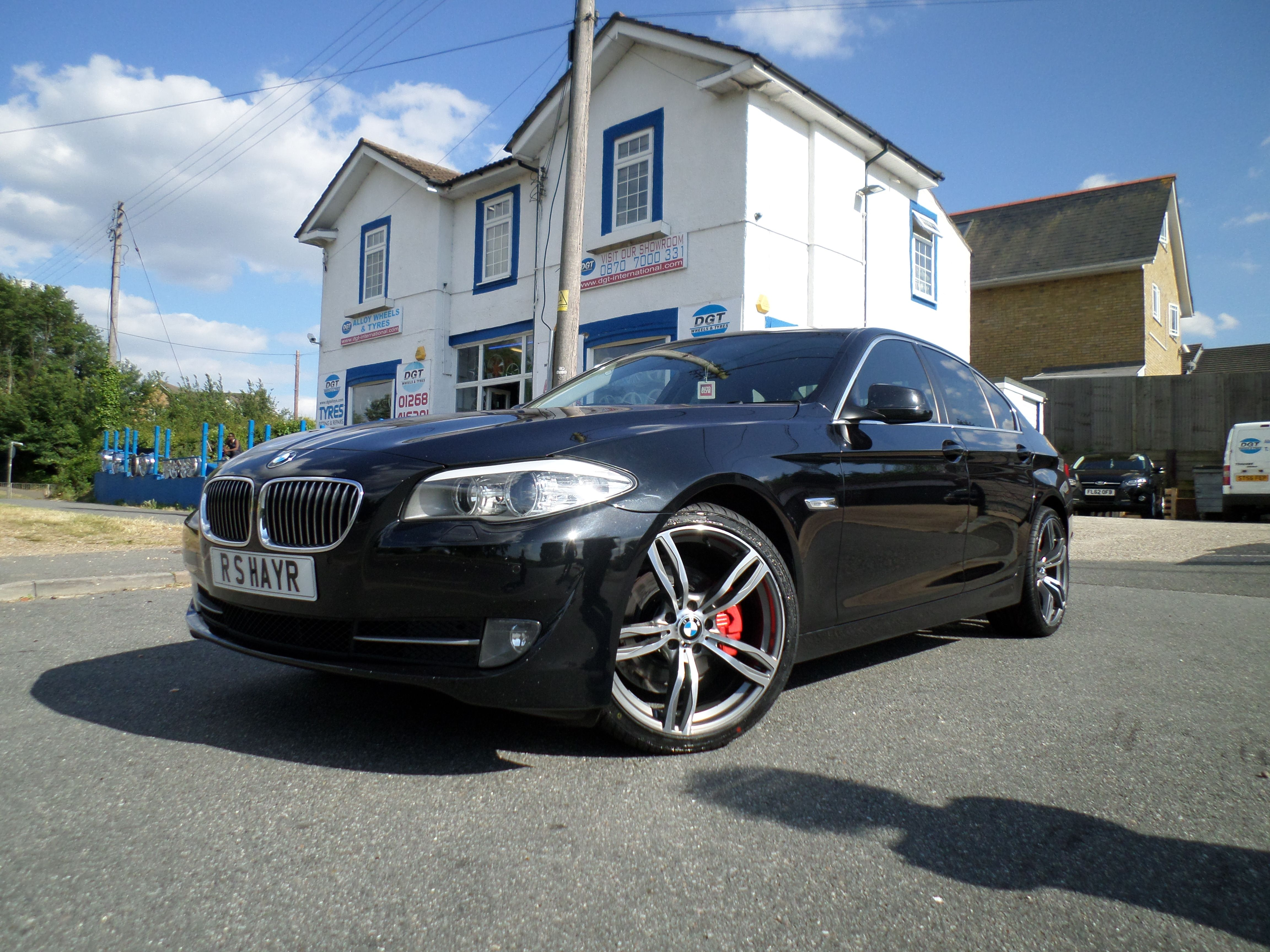 Staggered Gunmetal Polished Versions M Wheels - Bmw 35
