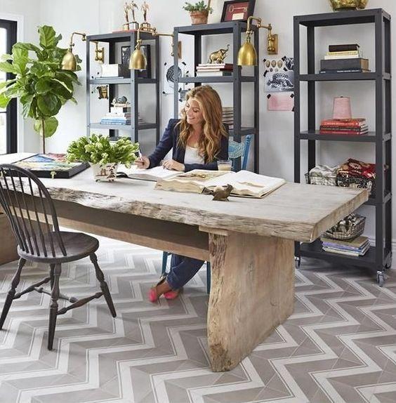 Ideas creativas para decorar tu oficina en casa, oficina en casa ...