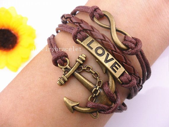 gift bangle antique bronze infinity hunger game by giftofthemagi, $4.99