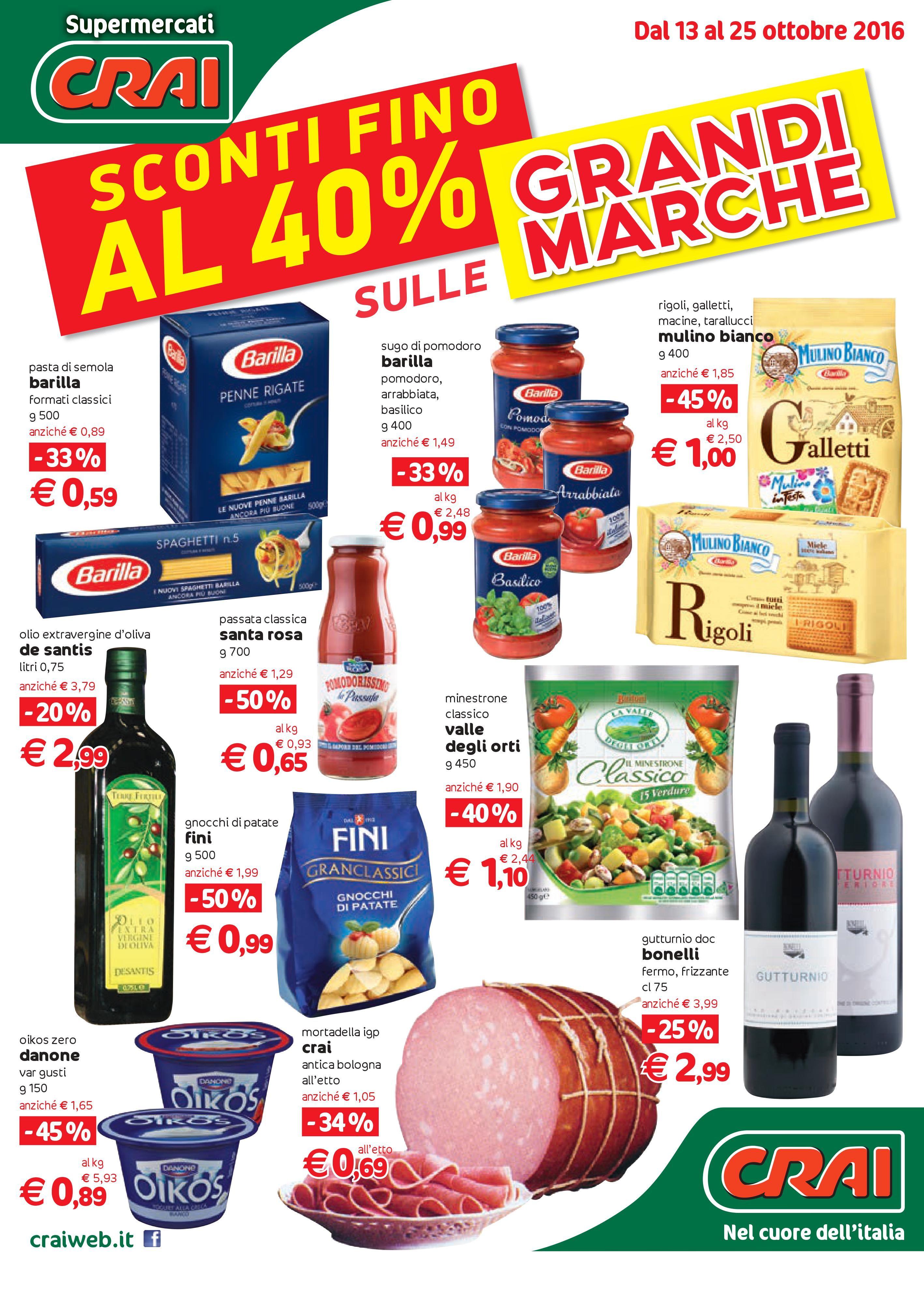 Volantino CRAI Supermercati - http://www.volantinoit.com/crai ...