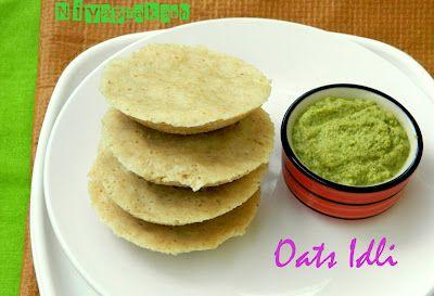 Nutritious Oats Idli