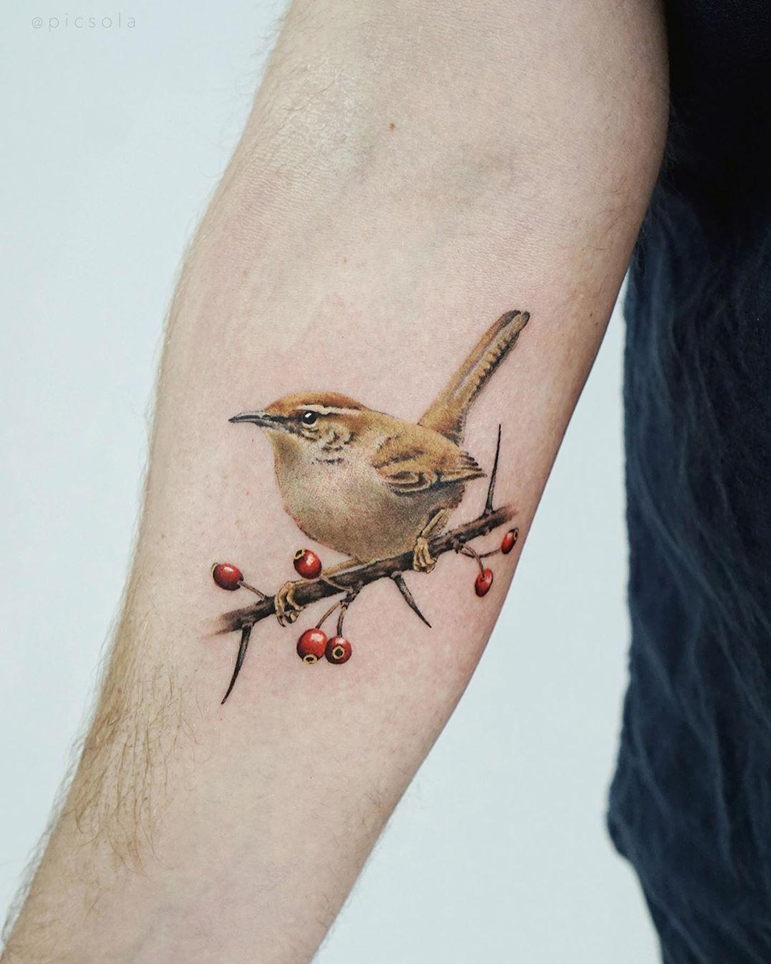 Pin On Watercolor Tattoo