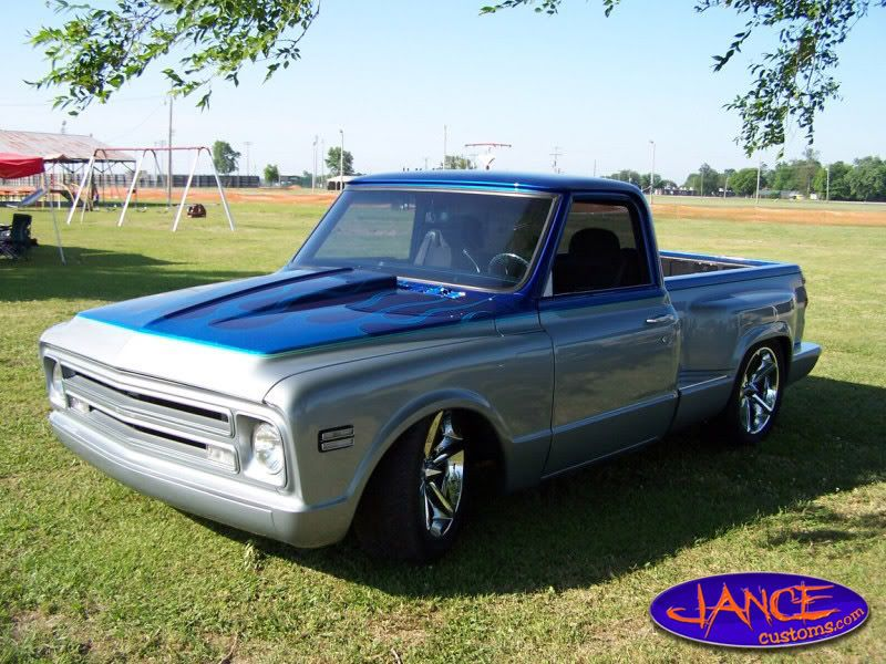 Chevy C10 Pickup w/ late model bed | Chevy truck ideas | Pinterest ...