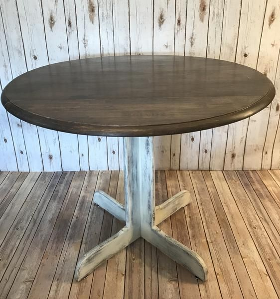 "Small Farmhouse Dining Table- 36"" Round images"