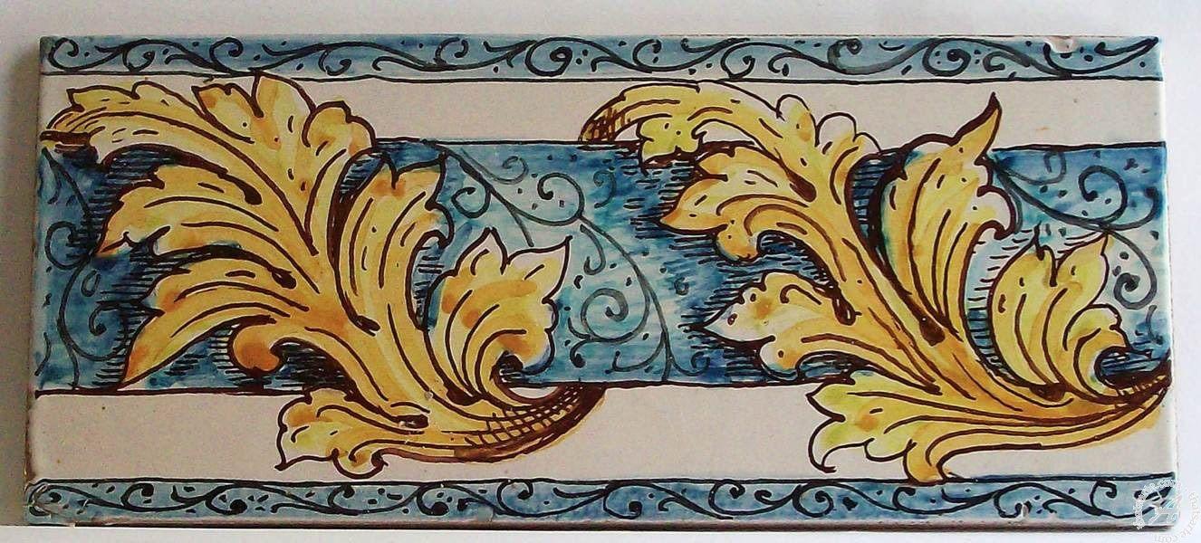 Italian ceramics tile 01 border tile messina italian pottery by italian ceramics tile 01 border tile messina italian pottery by ghenos tile 01 dailygadgetfo Images