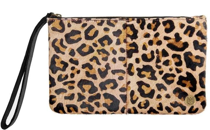 MAHI Leather - Classic Clutch Bag In Leopard Print Pony Fur in 2019 ... fe0b860684990